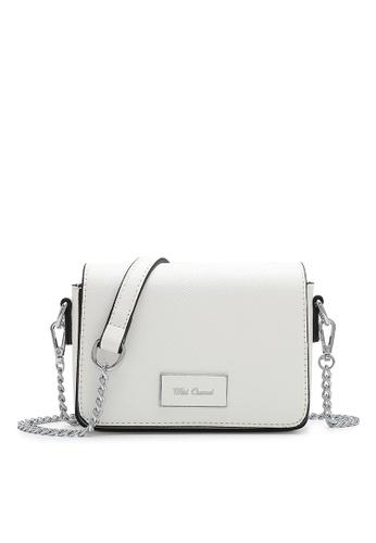 Wild Channel white Women's Sling Bag / Shoulder Bag / Crossbody Bag A1437AC1963C5BGS_1