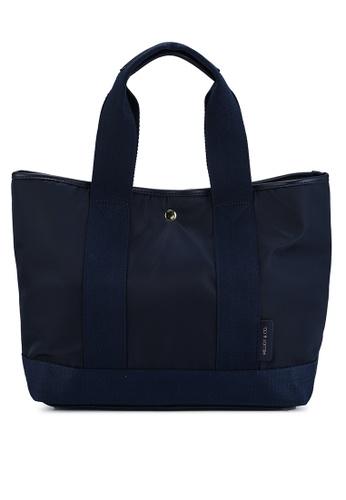 Milliot & Co. navy Myrna Top Handle Bag EBD0BACC36B9CEGS_1