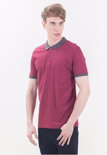 Drum grey Short Sleeve Polo Shirt -MRN DR425AA86RIRMY_1
