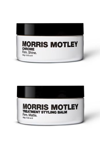 Morris Motley Morris Motley Treatment Styling Balm and Chrome 2901ABEED2DDA7GS_1