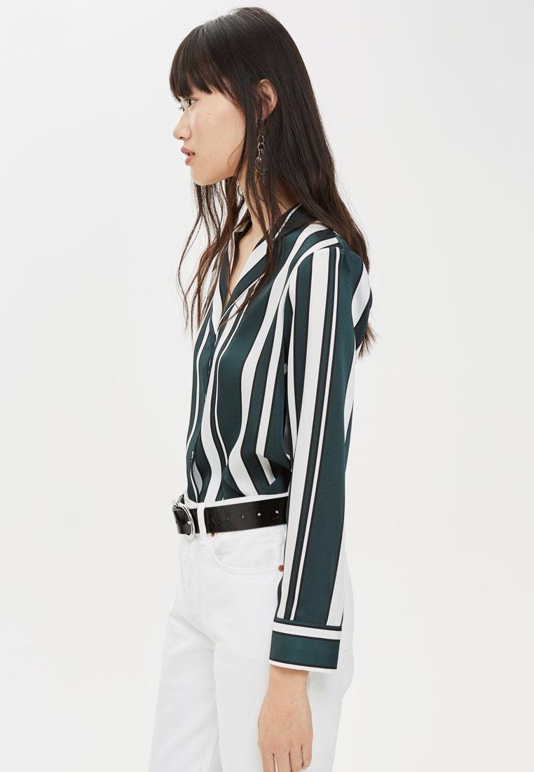 Shirt TOPSHOP Stripe Pj Shirt Pj Green TOPSHOP TOPSHOP Green Shirt Pj Green Pj TOPSHOP Stripe Stripe Stripe A5wxA