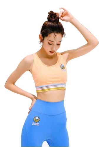 B.Duck pink B.Duck Women Training Sports Bra C49D0USABD47B9GS_1