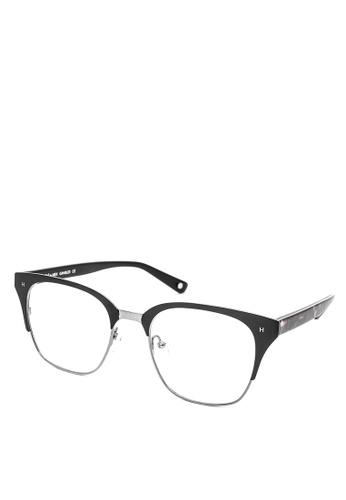HEX EYEWEAR black Gambler - Johnny M. - Optical - Italy Design HE671AC2V1LLHK_1