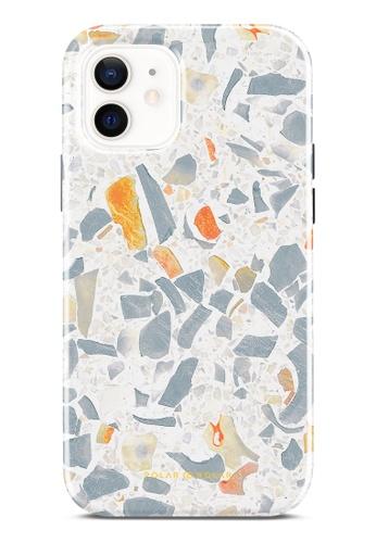 Polar Polar grey Terrazzo Grey Dual-Layer Tough Case Glossy For iPhone 12 Pro / iPhone 12 9198FAC1C4330FGS_1