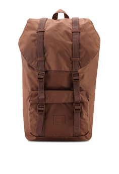 0c5aec9aa86 Herschel brown Little America Backpack 5B6E5AC0A597DCGS 1