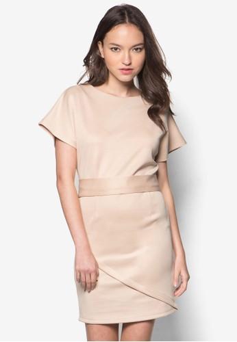 Allison 繫帶連身裙, esprit 工作服飾, 洋裝