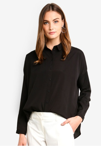 Vero Moda black Fabulous Oversize Shirt A988BAAC2458FBGS_1