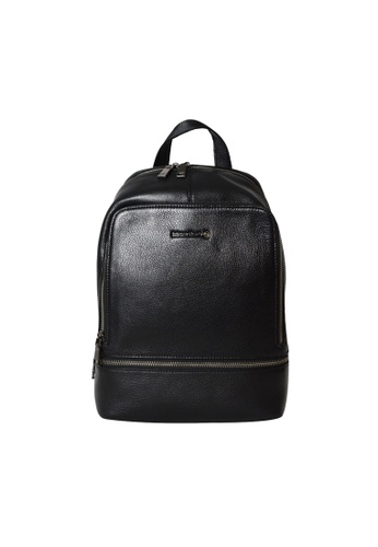 EXTREME black Extreme Genuine Leather Backpack Multiple Compartments Black 13inch Laptop 53F9EAC6E84EDAGS_1