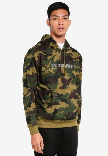 OBEY multi Automatic Hoodie 4D03EAA700DC76GS_1