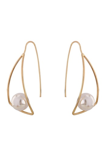 A-Excellence gold Gold Plated Earrings 12503AC1651869GS_1