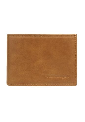 Volkswagen brown Embossed Mini Wallet 448B6AC2917E94GS_1