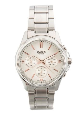 三指針不銹鋼圓錶, esprit outlet 台灣錶類, 飾品配件