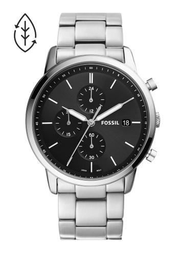 Fossil silver Minimalist Watch FS5847 F974EACC1CDF7AGS_1