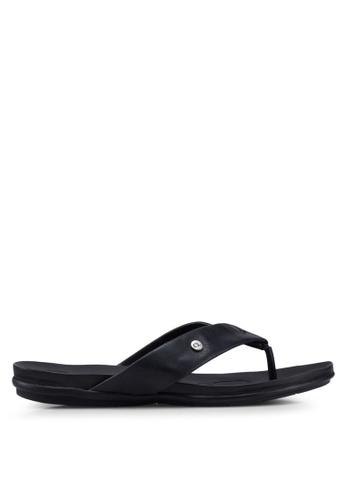 Carlton London 黑色 懶人鞋 涼鞋 A6A48SH1B41D85GS_1