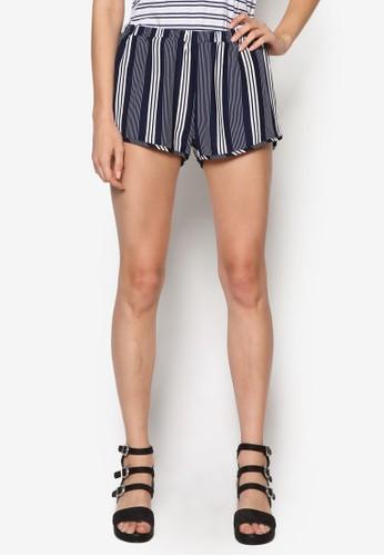 Rolla 條紋休閒短褲, 服飾, 短esprit門市褲