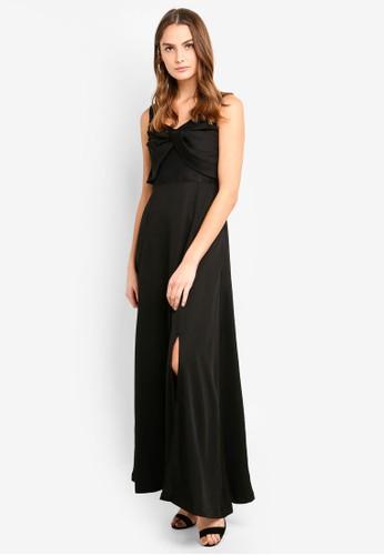 Megane black Red Romance Mireille Long Dress F4387AA97BC29BGS_1