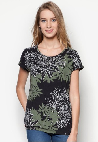 葉子印花短袖上衣, 服飾, Tesprit 尖沙咀恤