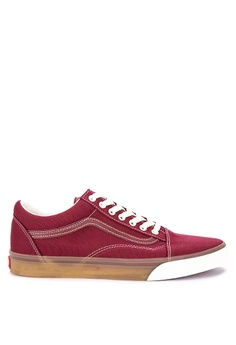 92620d8efc VANS red Gum Pop Old Skool Sneakers 20173SH68D5D82GS 1