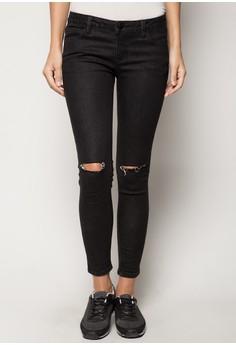 Styled Black Skinny Jeans