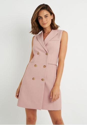 FORCAST pink FORCAST Toni Vest Dress BB475AA45CEEEDGS_1