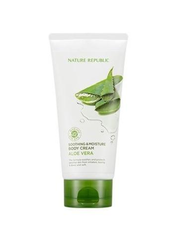 NATURE REPUBLIC Soothing & Moisture Aloe Vera Body Cream 150ml 736EFBE119034EGS_1