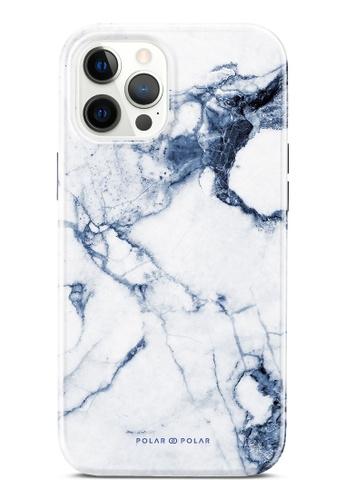 Polar Polar blue Indigo Vase Dual-Layer Tough Case Glossy For iPhone 12 Pro Max 38AA1AC17FAEABGS_1