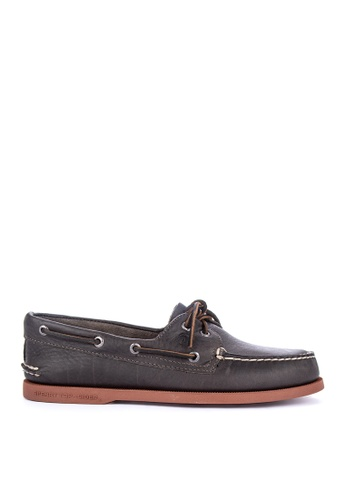 Sperry grey A/O 2-Eye Color Sole Loafers F28E1SH766507DGS_1
