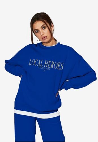 Local Heroes blue LH 2013 Blue Sweatshirt EE709AAFE1BC11GS_1