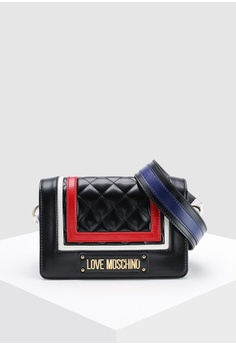 309fe22e33 Love Moschino multi Quilted Sling Bag DF946AC2F41880GS_1