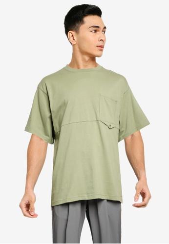 niko and ... green Pocket Detail T-Shirt FE4D4AA2258DADGS_1