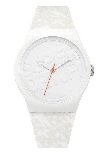 Superdry Watch white Superdry Jam Tangan - White - Rubber - SYG169W AB736ACA8C5599GS_1