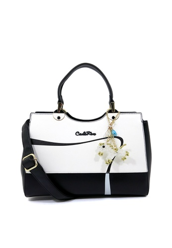 Carlo Rino black Carlo Rino 0304225-003-08 Top-handle bag (Black) E2C1BAC6D45D9BGS_1