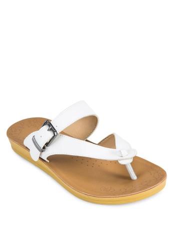 扣環人zalora 鞋評價字帶涼鞋, 女鞋, 涼鞋