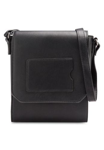 Something Borrowed black Cardholder Flapped Sling Bag A02C9AC75DB9E5GS_1