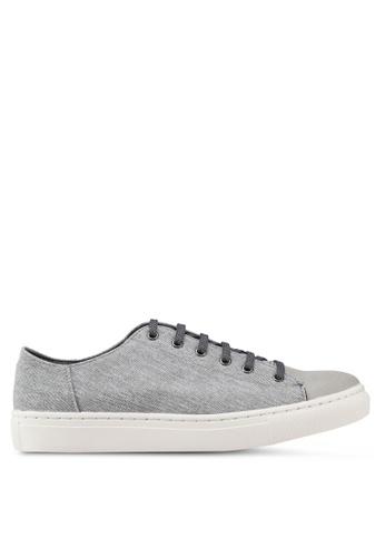 North Star grey Mix Materials Sneakers CA522SH5276F61GS_1