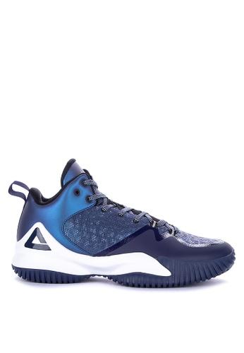 PEAK blue Streetball Master II Basketball Shoes 5DD13SHB2525D3GS_1