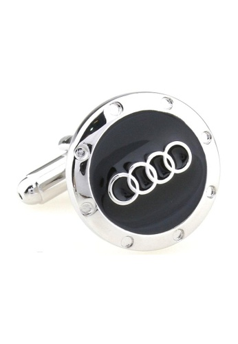 The Little Link Cufflinks black Audi Black Cufflinks TH089AC34AQVSG_1
