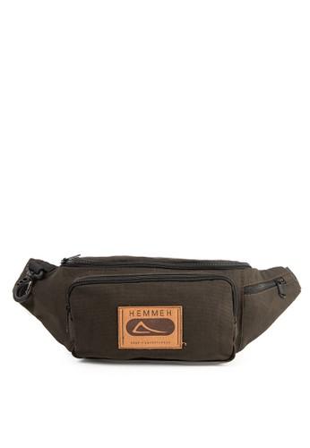HEMMEH brown Weist Bag Pouch Series 7F42AAC75916D6GS_1