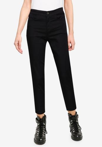 LC Waikiki black High Waist Stretch Skinny Leg Trousers 87F59AA67F1A26GS_1