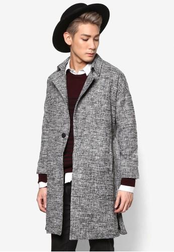 長版腰帶外esprit 台灣官網套, 服飾, 外套