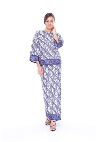Amar Amran navy Kurung Kedah Batik Parang 22099AA56A65ABGS_1