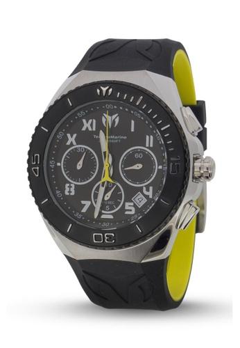 TECHNOMARINE black TechnoMarine Ocean Manta 48mm 215068 TE052AC89BXQPH_1