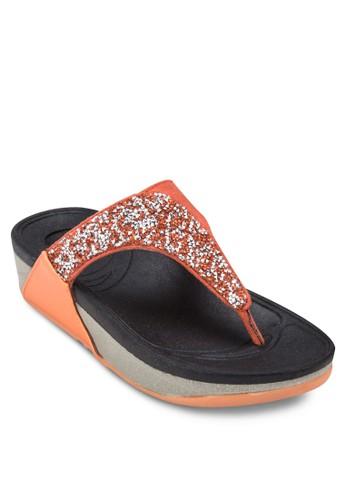 仿鑽夾腳厚底涼鞋, 女鞋esprit香港分店, 涼鞋