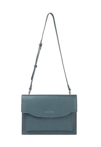 MARCO LAURENT blue Shallow Smile Clutch & Shoulder Bag CC29DACBCB1CF7GS_1