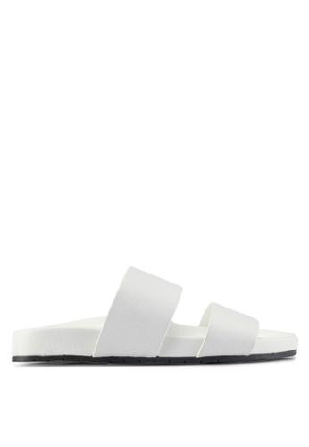 ALDO white Eraveth Flat Sandals EAEE4SH4F12F76GS_1