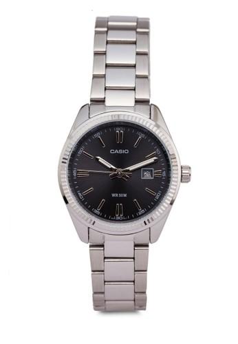 Casio LTP-1302D-1esprit holdingsA1VDF 不銹鋼指針錶, 錶類, 飾品配件