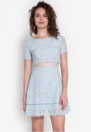 Get Laud blue Kei Dress GE599AA0K1SRPH_1