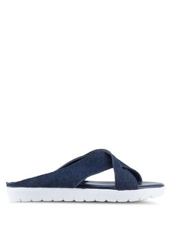 Bata blue Valo Sandals 86F7FSH8FF68F1GS_1