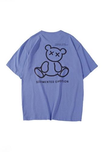 Twenty Eight Shoes purple VANSA Unisex Reflective Short Sleeve T-Shirt VCU-T1001 22C56AAB7A5A9DGS_1