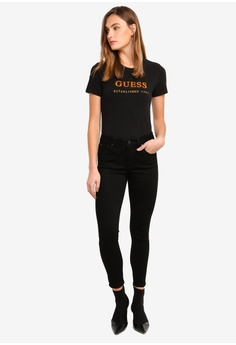 8d0d9b03a51 30% OFF Guess Mid Rise Skinny Jeans HK  1